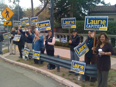 thumbnail for Rally for Laurie Capitelli, Marin Circle, Berkeley