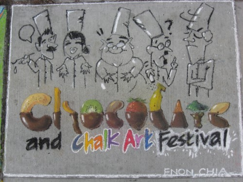 thumbnail for Berkeley : Chocolate and Chalk Art Festival This Weekend