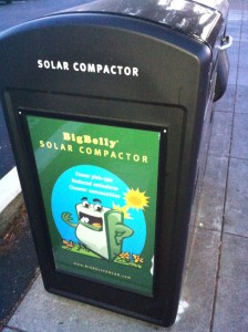 thumbnail for Spotted: Solar Trash Compactors in Albany