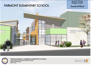 thumbnail for Portola Middle School and Fairmont Elementary drawings revealed