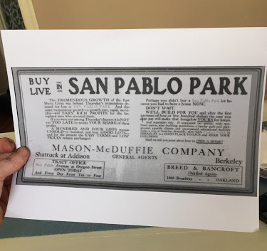 thumbnail for A Historical Tour of San Pablo Park, Berkeley